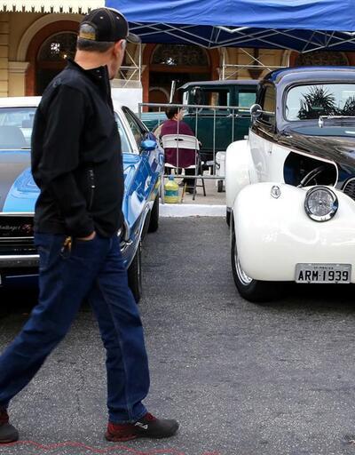 Sao Paulo'da klasik otomobil etkinliği
