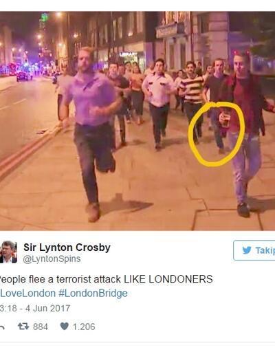 Saldırıdan böyle kaçtı, sosyal medyada 'fenomen' oldu