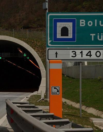 Bolu Dağı Tüneli'nin Ankara yönü 15 gün kapalı olacak