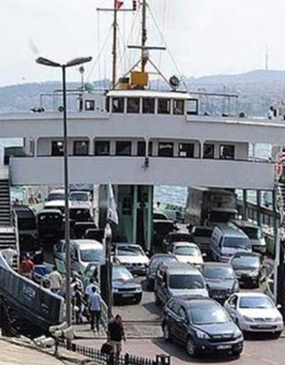 Son dakika...İstanbul'da ağır taşıtlara arabalı vapur yasağı
