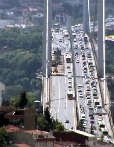 15 Temmuz Şehitler Köprüsü'nde onarım başladı