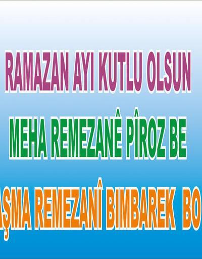 Bağlar Belediyesi: 3 dilli Ramazan afişimiz toplatıldı