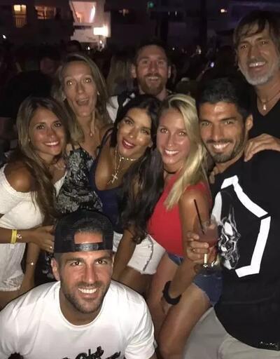 Messi ve arkadaşları 37 bin euro hesap ödedi