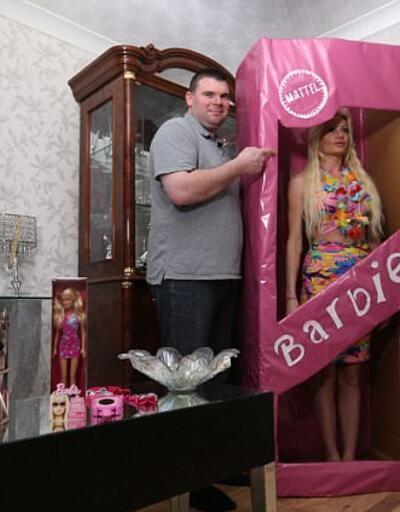 46 yaşında Barbie bebek gibi yaşıyor