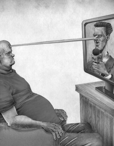 Dünyanın gidişatına eleştiri: Çok paylaşılan satirik çizimler