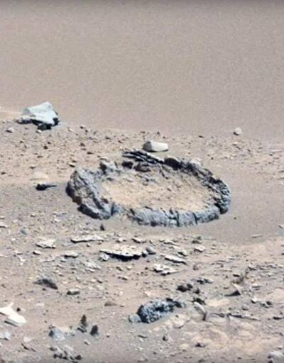 Mars yüzeyinde gizemli görüntüler
