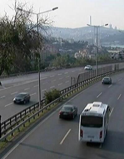 Bayram arifesinde İstanbul'un trafik yoğunluğu raporu