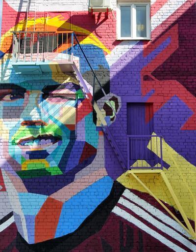 Bir sanat eseri olarak Cristiano Ronaldo