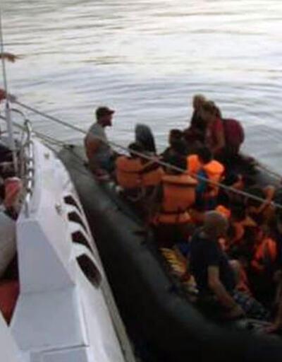 Ayvacık'ta 42 kaçak göçmen yakalandı