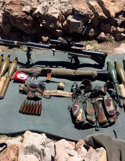 Herekol Dağı'nda 24 terörist etkisiz hale getirildi