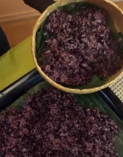Çin'in yeni üretimi: Mor pirinç