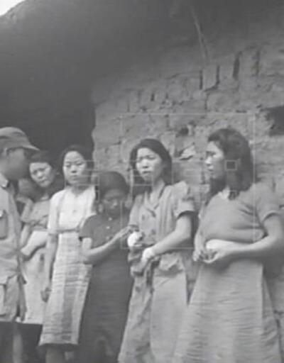 Japonya'nın seks köleliğine zorladığı kadınlar kamerada!