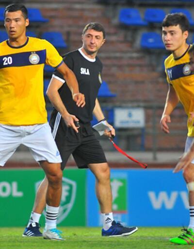 Şota Özbekistan'da ilk antrenmanına çıktı