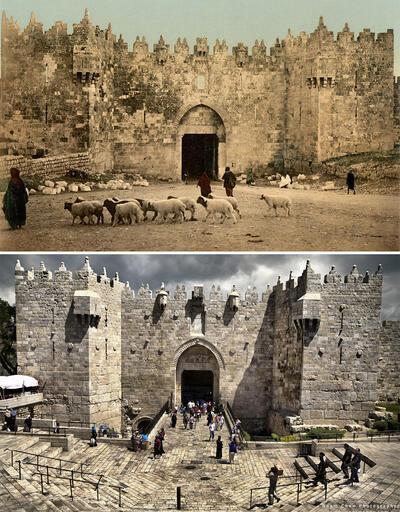 Dünden bugüne Kudüs: Şehrin inanılmaz değişimi