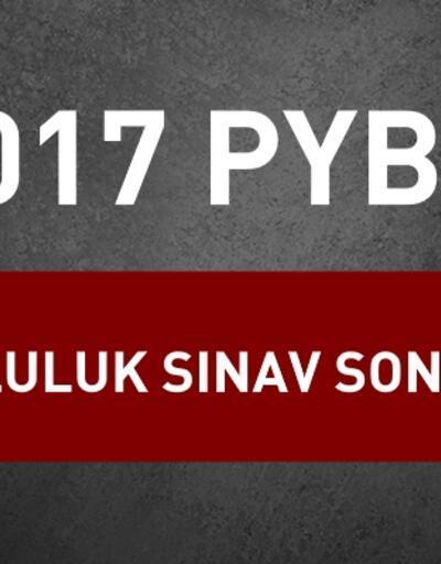 MEB sorgu: 2017 PYBS Bursluluk sınav sonucu