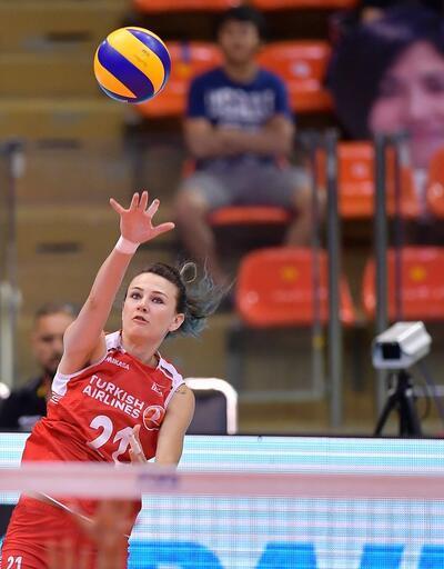 FIVB Dünya Grand Prix: Türkiye-İtalya: 1-3