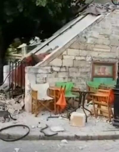 Kos'ta hasar büyük