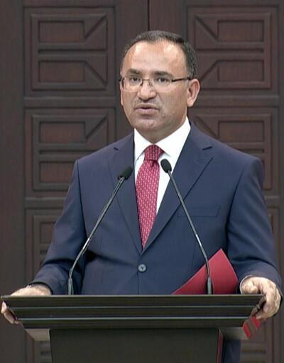 Hükümet Sözcüsü Bekir Bozdağ'dan 'hero tişörtü' açıklaması