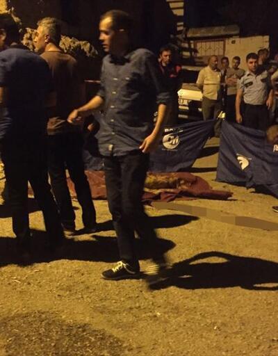 Ankara'nın göbeğinde sokak ortasında infaz