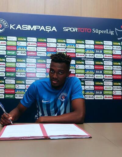 Kasımpaşa Atletico Madrid'den Mensah'ı transfer etti