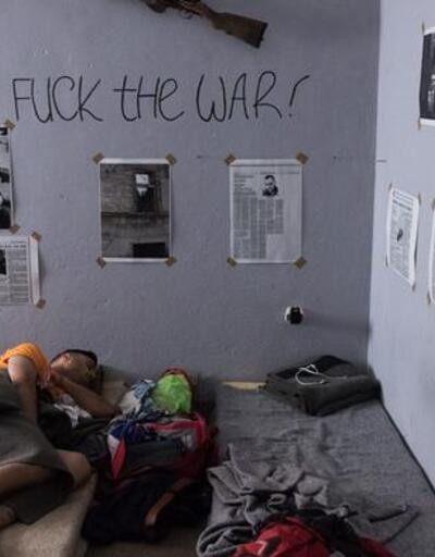 Böyle otel görülmedi... Savaşı burada deneyimliyorlar!