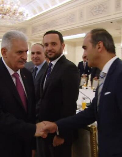 Son dakika... Başbakan Yıldırım, Alman firmaların yöneticileriyle buluştu