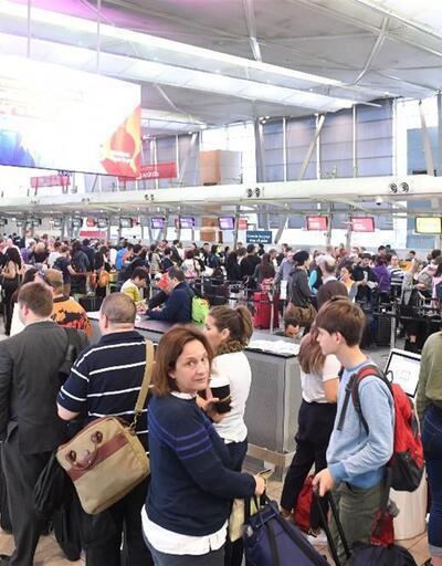 Avustralya havaalanlarında terör paniği, kaos yarattı!