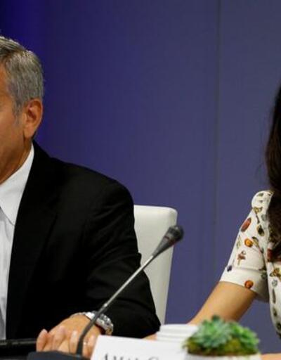 Clooney çifti, Suriyeli çocuklara okul açıyor