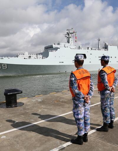Bu bir ilk: Çin askeri üs açtı