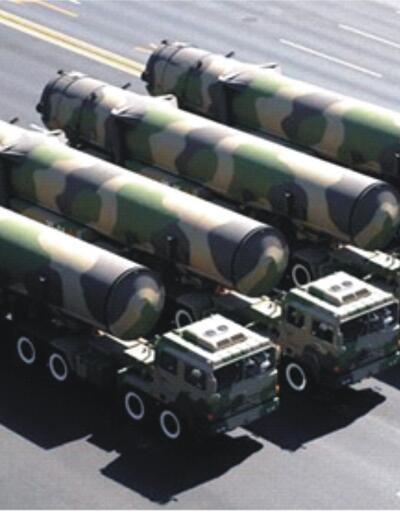 Çin'den yeni model küresel etkili balistik füze