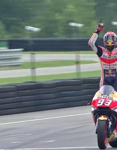 Çekya'da Marc Marquez kazandı