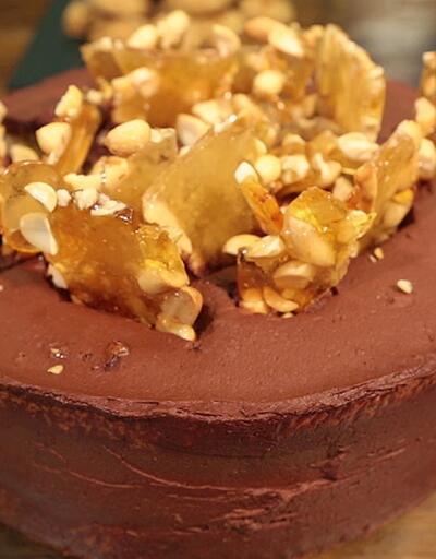 İşte krokanlı pasta tarifi