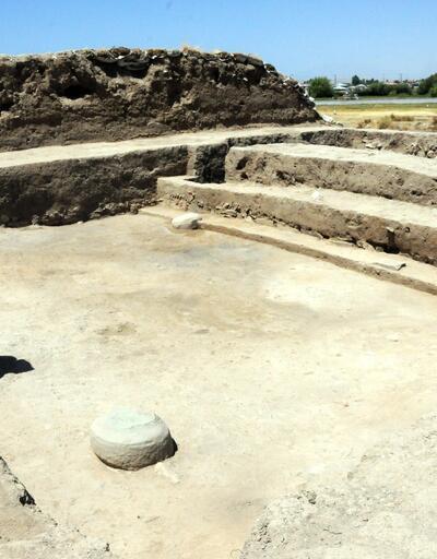 Van'da Urartulara ait dini mekan