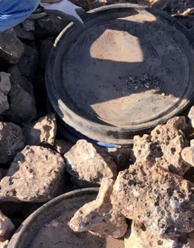 Dargeçit'te PKK'nın lojistik malzemeleri ele geçirildi