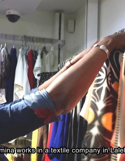 Göçmen Amina'nın hayatı belgesel oluyor