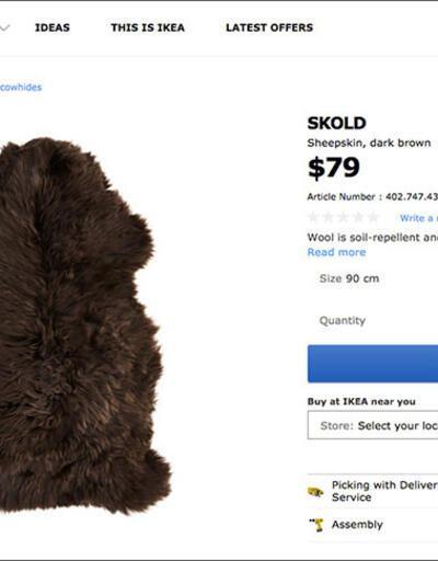 Game of Thrones kostümü meğer IKEA halısıymış