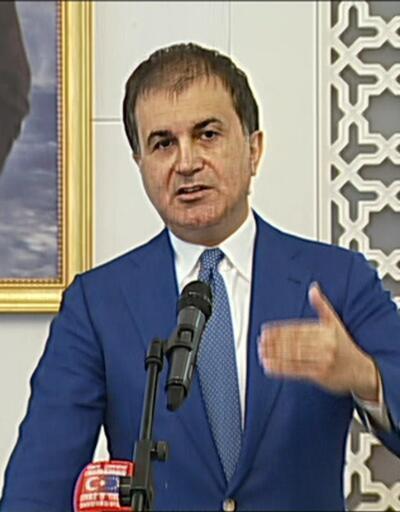 AB Bakanı Ömer Çelik'ten Merkel'e yanıt