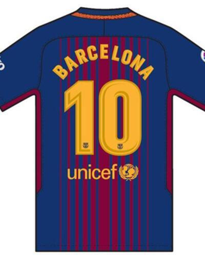 'Barcelona' yazılı formalarla sahaya çıkılacak