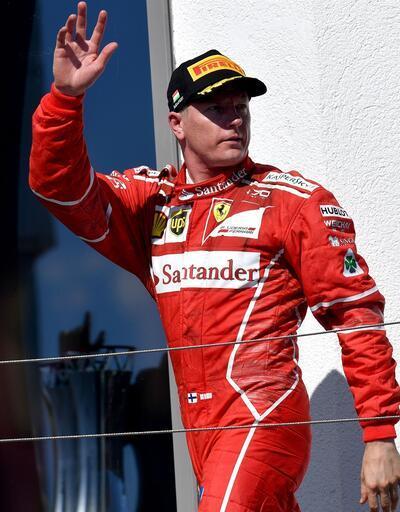 Raikkonen 1 yıl daha Ferrari'de