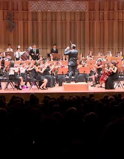 Çocuklardan barış için konser