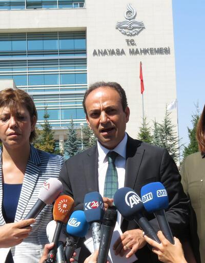 HDP'den AYM önünde 'adalet nöbeti'