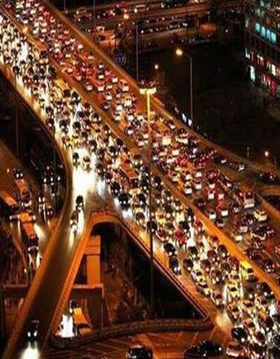 İstanbul'da trafik yüzde 30 arttı