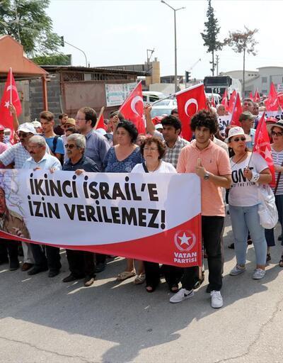 Adana'da 'İncirlik Hava Üssü ABD'ye kapatılsın' eylemi