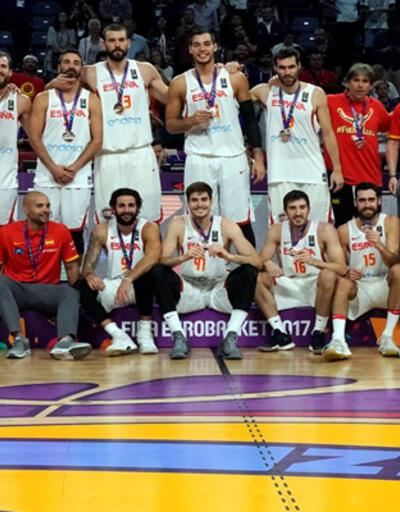 Avrupa Basketbol Şampiyonası'nda üçüncülük İspanya'nın
