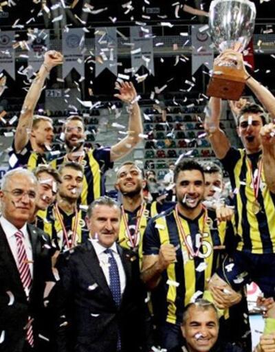 Erkekler Şampiyonlar Kupası'nda kupa Fenerbahçe'nin