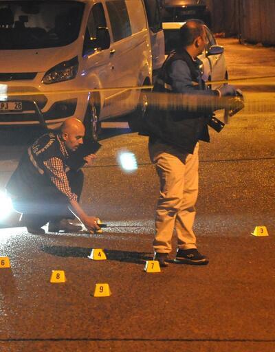 Başkentte şehir magandaları polisi ayağından vurdu