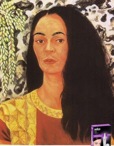 Frida Kahlo'lu epilasyon cihazı reklamı tepki çekti