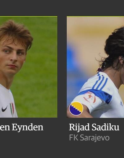 En yetenekli 60 futbolcu arasında bir Türk de var