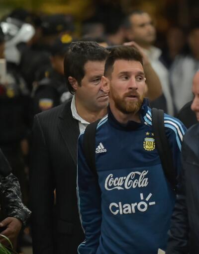 Messi için olağanüstü güvenlik önlemi
