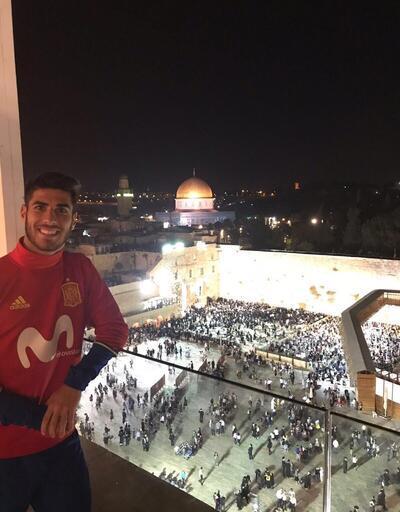 Real Madrid'li Marco Asensio Filistin-İsrail krizine neden oldu